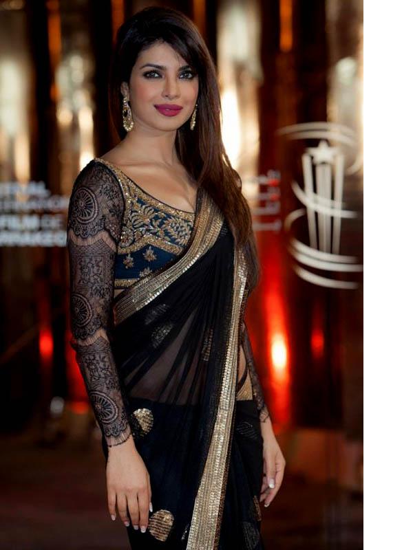 priyanka chopra 2013 saree