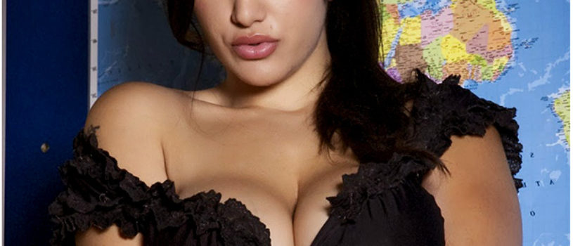 British Indian pornographic actress Leah Jaye