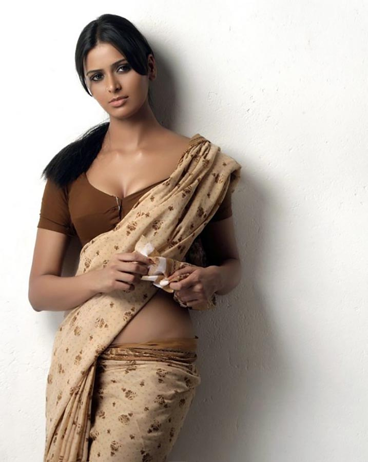 Sexy Poses In Saree - More Indian Bollywood Actress And Actors-9728