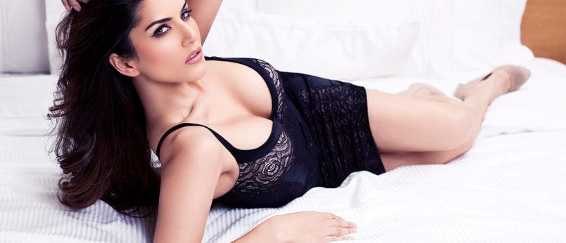 Maxim with Sunny Leone